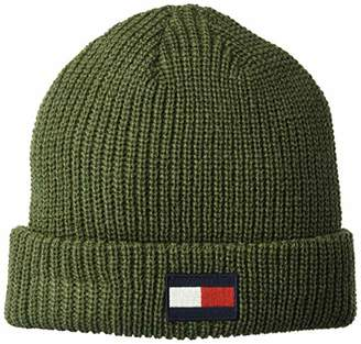 Tommy Hilfiger Men's Knit Logo Hat Accessory