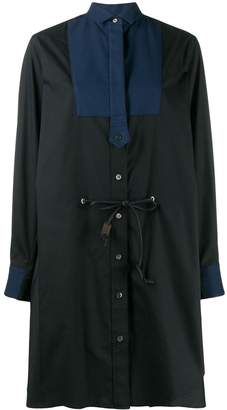 Sacai loose-fit shirt dress