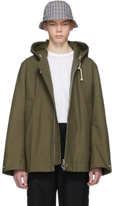 Acne Studios Green Melt Jacket