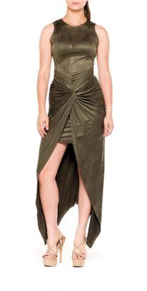 Bella Suede Knot Dress $74 thestylecure.com