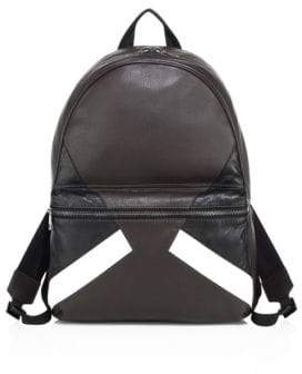 Neil Barrett Retro Modernist Leather Backpack