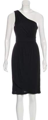 Diane von Furstenberg One-Shoulder Knee-Length Dress