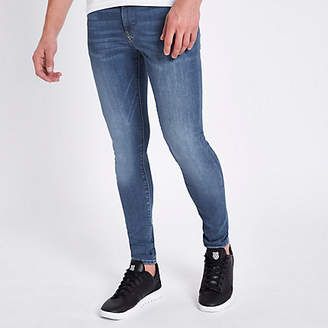 River Island Mid blue Ollie super skinny spray on jeans