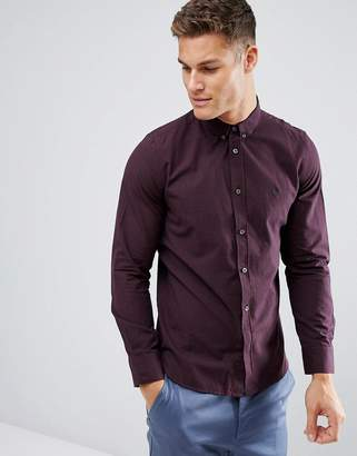 French Connection Slim Fit Gingham Shirt