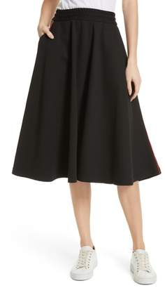 MSGM Contrast Pocket Sweat Skirt