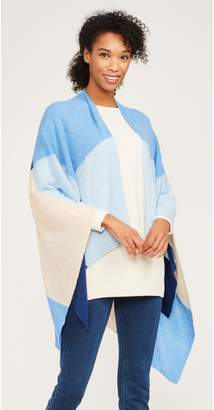 J.Mclaughlin Skyler Cashmere Wrap in Colorblock