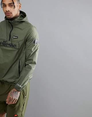 Ellesse Sport Overhead Jacket In Green