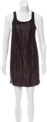 Fendi Sleeveless Iridescent Dress