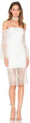 Bardot Geo Lace Dress $139 thestylecure.com