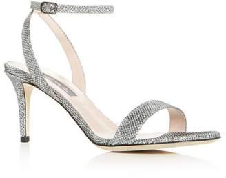 1feace074 Sarah Jessica Parker Women s Gal Glitter Mid-Heel Sandals