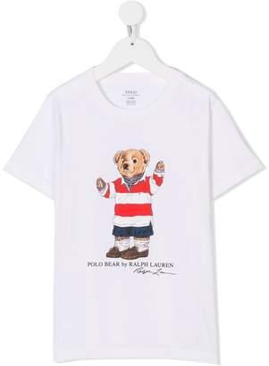 Ralph Lauren bear print T-shirt