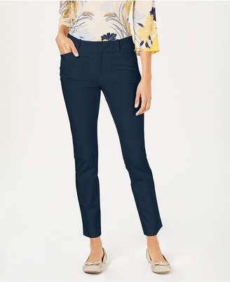 Charter Club Newport Tummy-Control Slim-Fit Pants