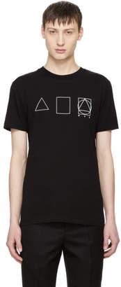 McQ Black Glyph Icons T-Shirt