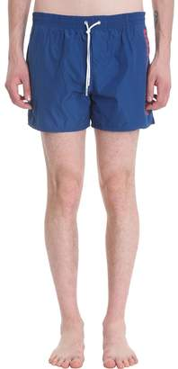 DSQUARED2 Blue Nylon Swimsuit