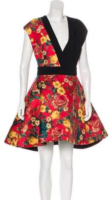 Fausto Puglisi Floral A-Line Dress w/ Tags