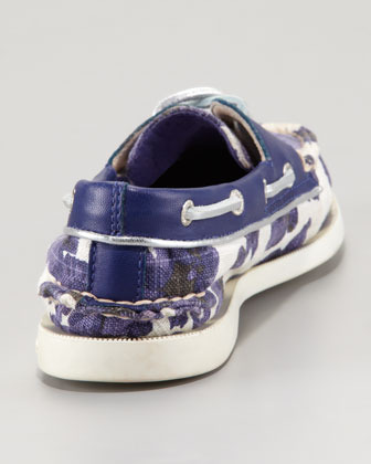 Sperry Milly for Slip-On, Blue Floral
