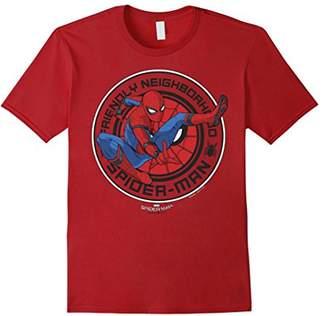 Marvel Spider-Man Homecoming Friendly Neighbor Badge T-Shirt