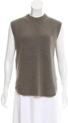 Alexander Wang Wool & Cashmere-Blend Rib-Knit Sweater