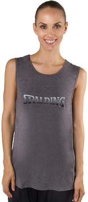 Spalding Women's Sleeveless Logo Graphic Tee