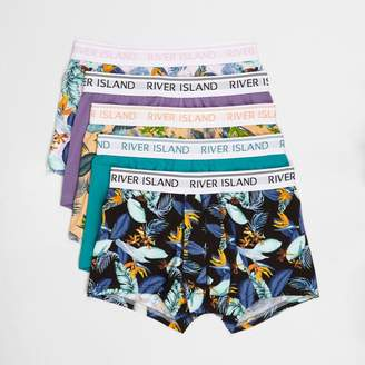 River Island Mens Big and Tall pastel floral