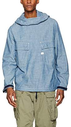 G Star Men's Chambray Pw Hooded Jacket Parka,XX-Large