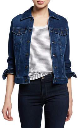 AG Jeans Robyn Button-Front Denim Jacket