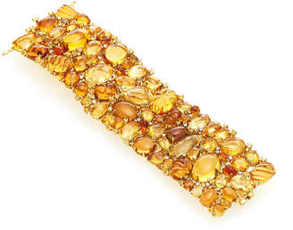 Moira Fine Jewellery Citrine And Tourmaline Bracelet
