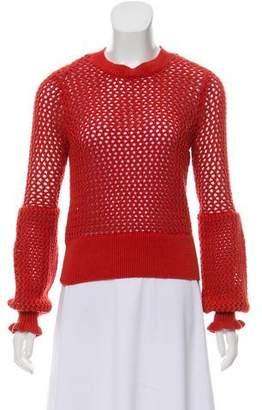 Rebecca Minkoff Open Knit Crew Neck Sweater w/ Tags