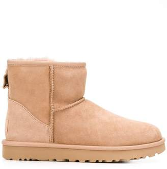 UGG suede mid-calf boots