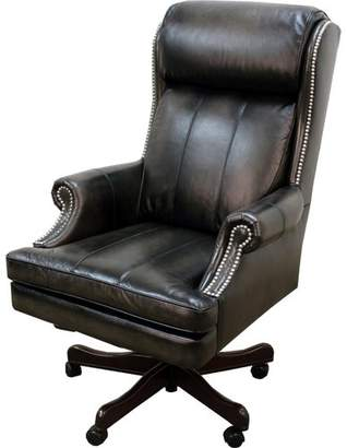 Co Darby Home Corey Leather Executive Chair