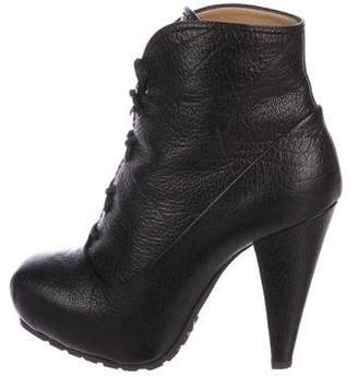 Proenza Schouler Leather Platform Boots