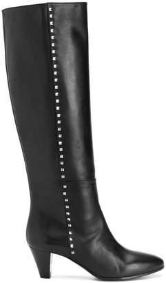 Via Roma 15 heeled studded riding boots