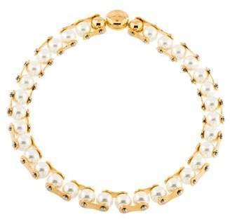 Louis Vuitton Speedy Pearls One Rank Necklace