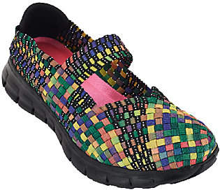 Skechers Woven Mary Janes w/ Memory Foam - Good Vibes $35.69 thestylecure.com