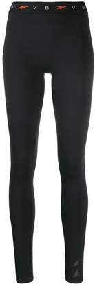 Reebok x Victoria Beckham x Victoria Beckham logo leggins