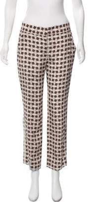 Louis Vuitton Silk Patterned Pants