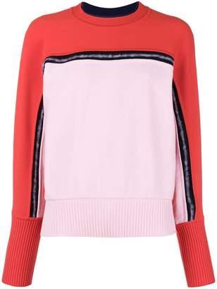 Sportmax two-tone knit jumper