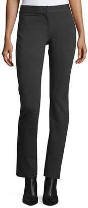 Derek Lam Mid-Rise Jersey Leggings, Charcoal $650 thestylecure.com