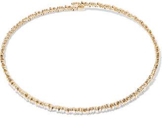 Suzanne Kalan 18-karat Gold Diamond Choker