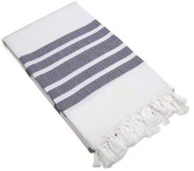 Linum Home Textiles Fringed Turkish Beach Towel