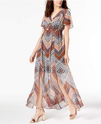 INC International Concepts I.n.c. Flutter-Sleeve Maxi Dress, Created for Macy's