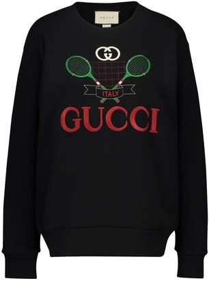 Gucci GG tennis sweatshirt