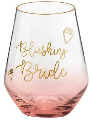 Rosanna Blushing Bride Stemless Wine Glass
