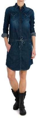Replay Women's Long - regular Dress - - 8