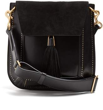 Isabel Marant Kansy leather and suede tassel bag