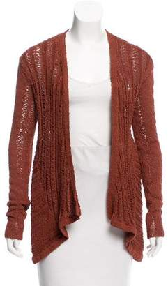 Kimberly Ovitz Open-Front Cardigan