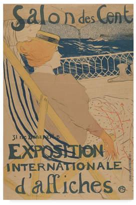 """Henri De Toulouse-Lautrec Salon Des Cent Exposition Internationale Daffiches Canvas Art - 15"""" x 20"""""""