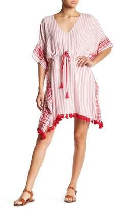 Velvet by Graham & Spencer Janes Drawstring Kaftan Dress