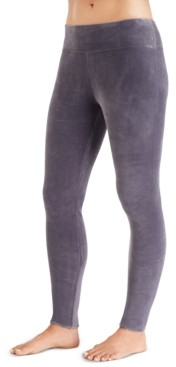 Cuddl Duds Women's Double-Plush Velour Leggings