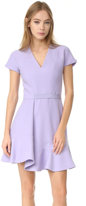 Carven Short Sleeve Dress $690 thestylecure.com